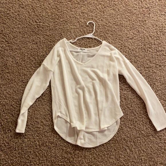 Double Zero Brand White Sweater